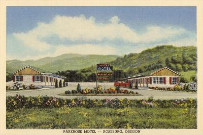 Parkrose Motel, Roseburg--Art Print