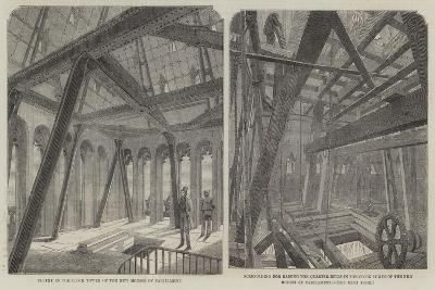 Parliament Bell Tower--Giclee Print
