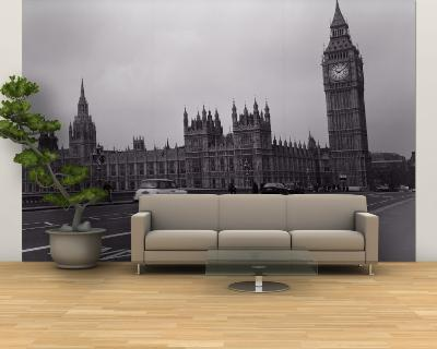 Parliament, Big Ben, London, England, United Kingdom--Wall Mural – Large