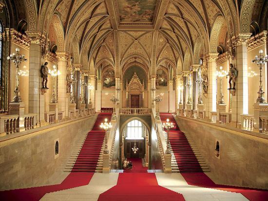 Parliament Building, Budapest, Hungary-Miva Stock-Photographic Print