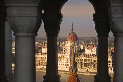 Parliament Building in Budapest-Jon Hicks-Photographic Print