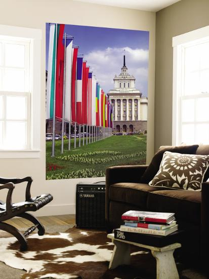 Parliament Building, Sofia, Bulgaria-Russell Young-Wall Mural