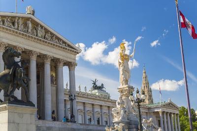 Parliament Building, Vienna, Austria-Peter Adams-Photographic Print
