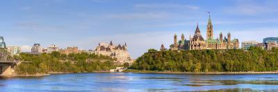Parliament Buildings and the Fairmont Chateau Laurier; Ottawa Ontario Canada-Design Pics Inc-Photographic Print