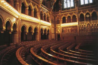 Parliament Hall, 1885-1904, Pest, Budapest (Unesco World Heritage List, 1987), Hungary--Photographic Print