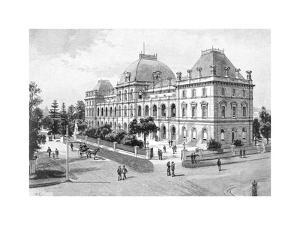Parliament House, Brisbane, Australia, 1886