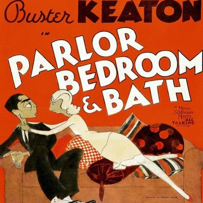 Parlor, Bedroom and Bath, Buster Keaton, Charlotte Greenwood, 1931