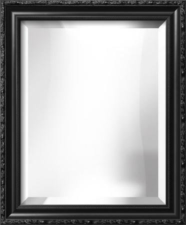 PARMA Black Wide Mirror
