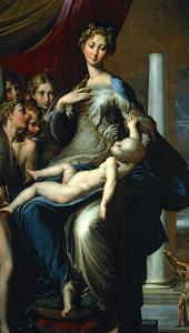 Madonna with the Long Neck, 1534-40 by Parmigianino