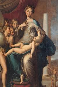 Madonna with the Long Neck by Parmigianino