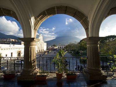 Parque Central, Antigua, Guatemala, Central America-Ben Pipe-Photographic Print