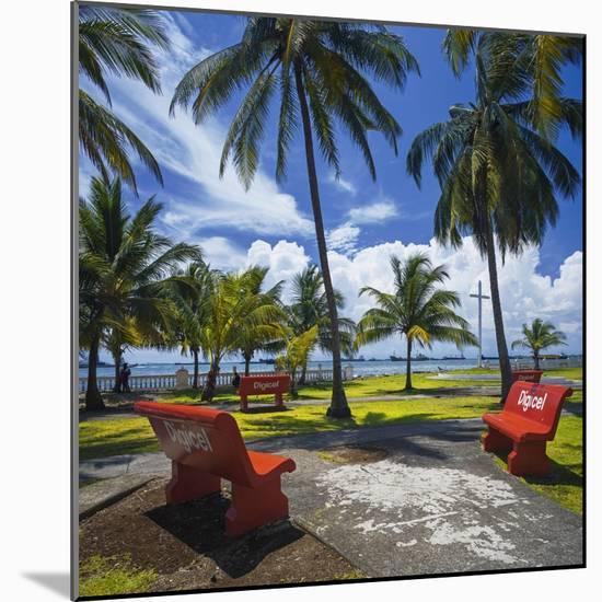 Parque De La Juventud on the Waterfront in Colon.-Jon Hicks-Mounted Photographic Print