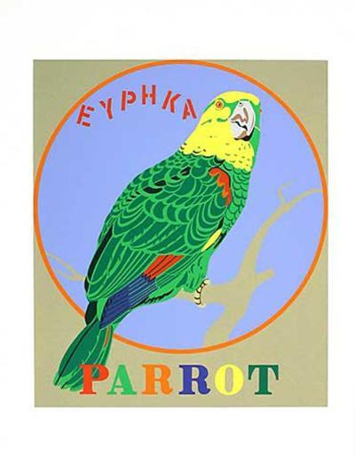 Parrot (from the American Dream Portfolio)-Robert Indiana-Serigraph