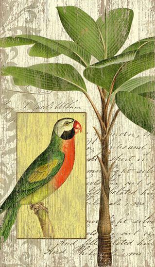 Parrot I--Wood Sign