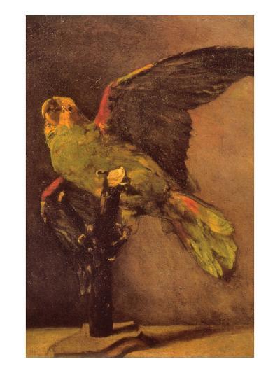 Parrot-Vincent van Gogh-Art Print