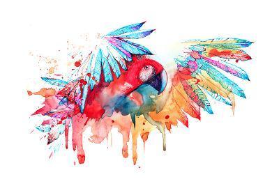 Parrot-okalinichenko-Art Print