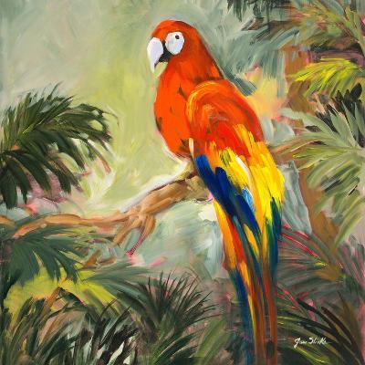 Parrots at Bay I-Jane Slivka-Premium Giclee Print
