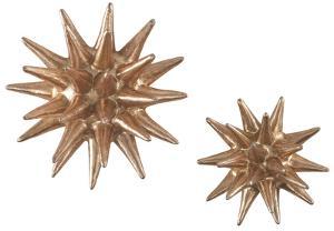 Parsec Wall Décor Pair - Copper