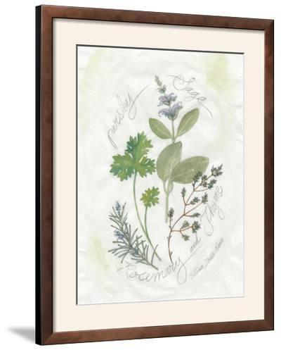 Parsley and Sage-Elissa Della-piana-Framed Photographic Print