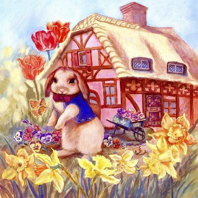 Parsley Bunny's House-Judy Mastrangelo-Giclee Print