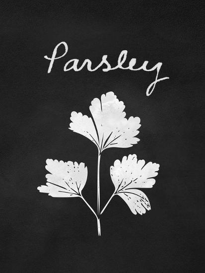 Parsley-Linda Woods-Art Print