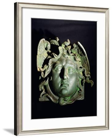 Part of Beam with Proteome of Medusa, from Nemi, Rome Province, Italy--Framed Giclee Print