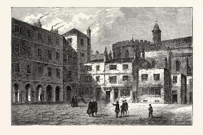 Part of Inner Temple 1800 London--Giclee Print