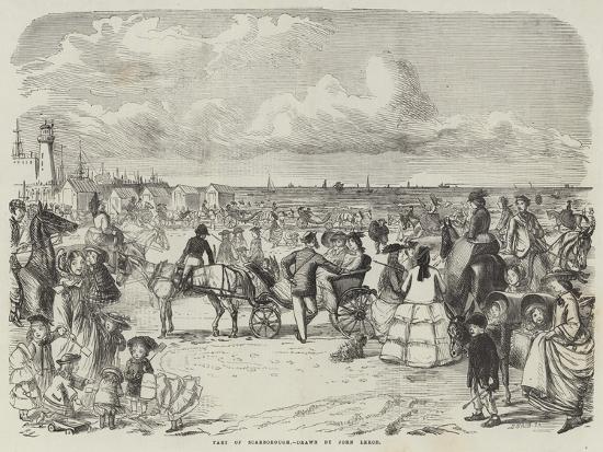 Part of Scarborough-John Leech-Giclee Print