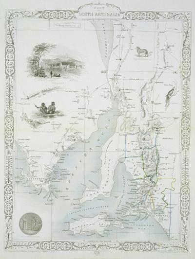 Part of South Australia-John Rapkin-Giclee Print
