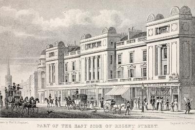 Part of the East Side of Regent Street-Thomas Hosmer Shepherd-Giclee Print