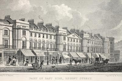 Part of the East Side, Regent Street-Thomas Hosmer Shepherd-Giclee Print