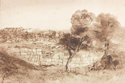 Part of the Eastern Rampart of Birdoswald-Charles Richardson-Giclee Print