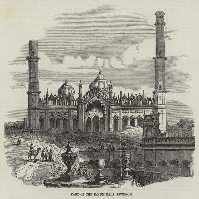 Part of the Imaum Bala, Lucknow--Giclee Print