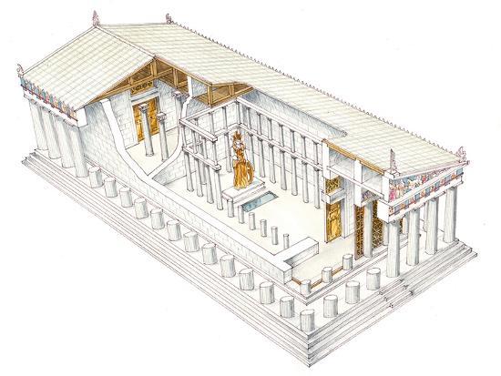 Parthenon, Athens-Fernando Aznar Cenamor-Giclee Print