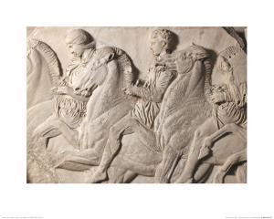 Parthenon Frieze, Detail