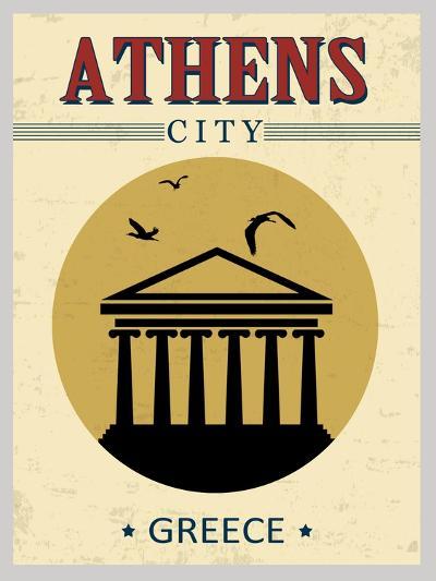 Parthenon From Athens Poster-radubalint-Art Print
