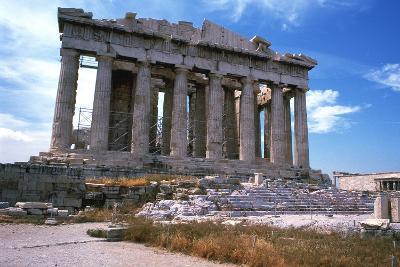 Parthenon on the Acropolis, Athens, 5th Century Bc--Photographic Print