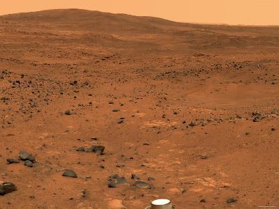 Partial Seminole Panorama of Mars-Stocktrek Images-Photographic Print