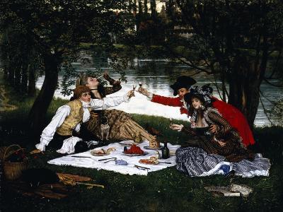 Partie Carree, 1870-Frank Wright Bourdillon-Giclee Print