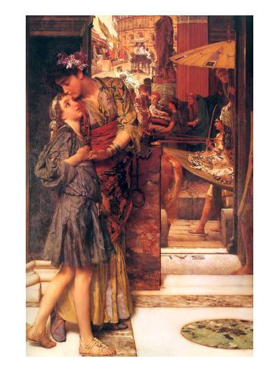 Parting Kiss-Sir Lawrence Alma-Tadema-Art Print