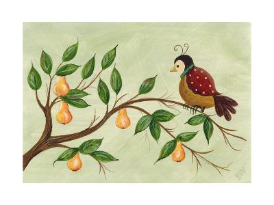 Partridge in a Pear Tree-Beverly Johnston-Giclee Print