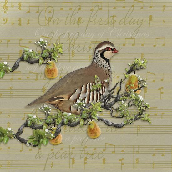 Partridge in a Pear Tree-Leslie Wing-Giclee Print