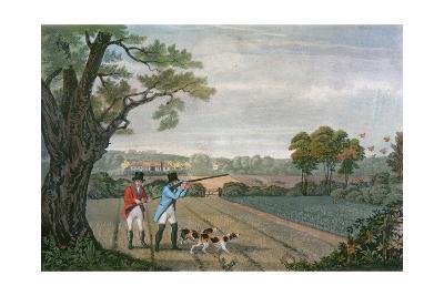 Partridge Shoot 1830--Giclee Print