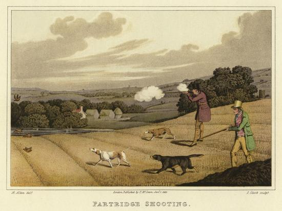 Partridge Shooting-Henry Thomas Alken-Giclee Print