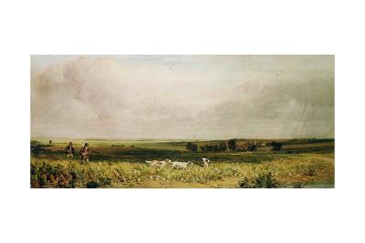 Partridge Shooting-Peter De Wint-Giclee Print