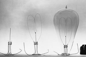 Parts of Incandescent Light Bulb