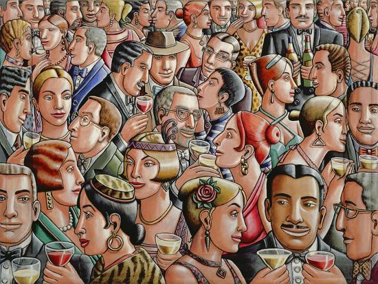 Party, 2007-PJ Crook-Giclee Print
