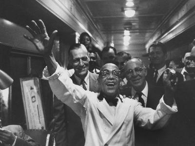 Party Aboard New Haven Train-Peter Stackpole-Photographic Print