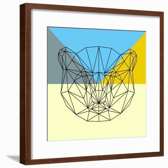 Party Bear-Lisa Kroll-Framed Premium Giclee Print