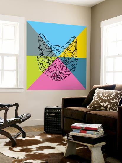 Party Cat 2-Lisa Kroll-Wall Mural